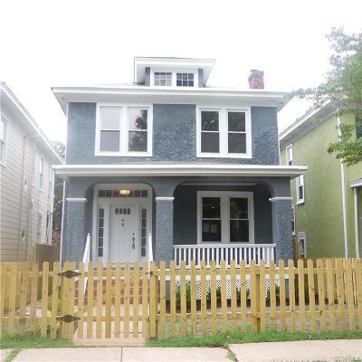 Richmond Single Family Home For Sale: 3221 3rd Avenue
