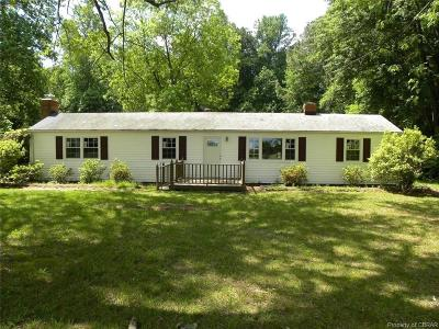 Heathsville Single Family Home For Sale: 7706 Northumberland Highway