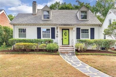Richmond Single Family Home For Sale: 3913 Kensington Avenue