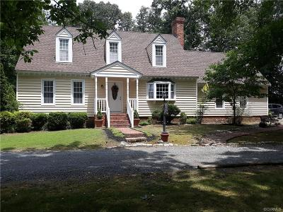 Mechanicsville Single Family Home For Sale: 3410 Parsleys Mill Road