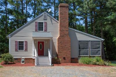 Heathsville Single Family Home For Sale: 91 Edgewater Drive