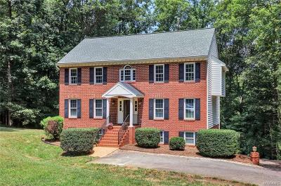 Chester Single Family Home For Sale: 9313 Waterfall Cove Drive