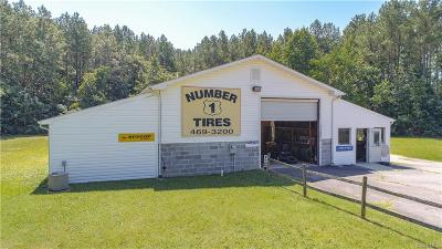 Dinwiddie Commercial For Sale: 11801 Boydton Plank Road