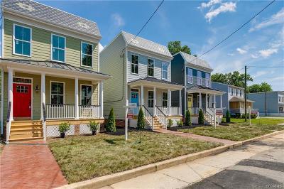 Richmond Single Family Home For Sale: 1209 N 21st Street