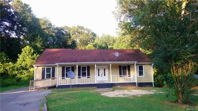 Chester Single Family Home For Sale: 4807 Ball Cypress Road