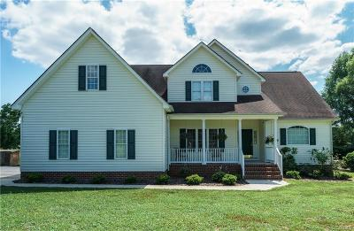 Powhatan County, Amelia County Single Family Home For Sale: 1919 Old Tavern Road