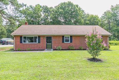 Mechanicsville Single Family Home For Sale: 8420 Atlee Road