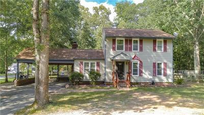 Chester Single Family Home For Sale: 5001 Wilconna Road