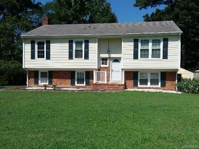 Richmond Single Family Home For Sale: 3802 Voyager Drive