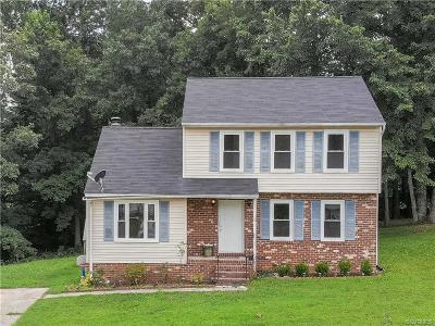 Richmond Single Family Home For Sale: 2616 Central Avenue