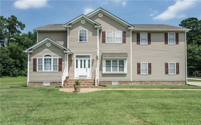 Mechanicsville Single Family Home For Sale: 8970 Mann Drive