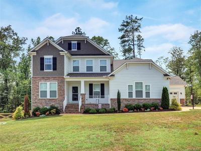 Midlothian Single Family Home For Sale: 15800 Old Castle Road