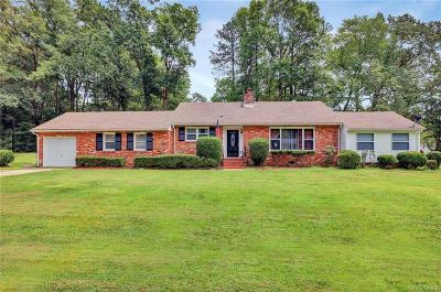 Petersburg Single Family Home For Sale: 2921 Rolyart Road
