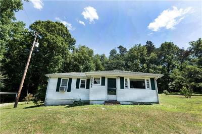 Powhatan County, Amelia County Single Family Home For Sale: 20941 Patrick Henry Highway