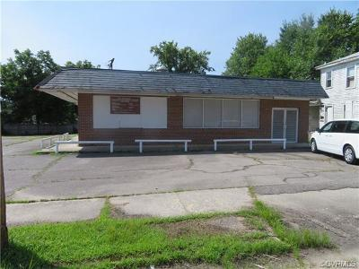 Petersburg Commercial For Sale: 1310 Rome Street