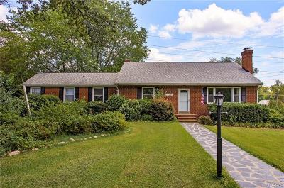 Henrico Single Family Home For Sale: 7425 Fairway Avenue