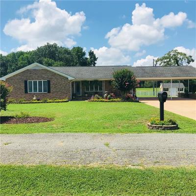 White Stone Single Family Home For Sale: 150 Pine Drive