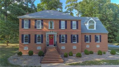 Chesterfield Single Family Home For Sale: 1604 Walthall Creek Drive