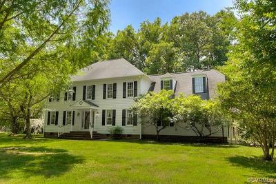 Mechanicsville Single Family Home For Sale: 7189 Rural Point Road