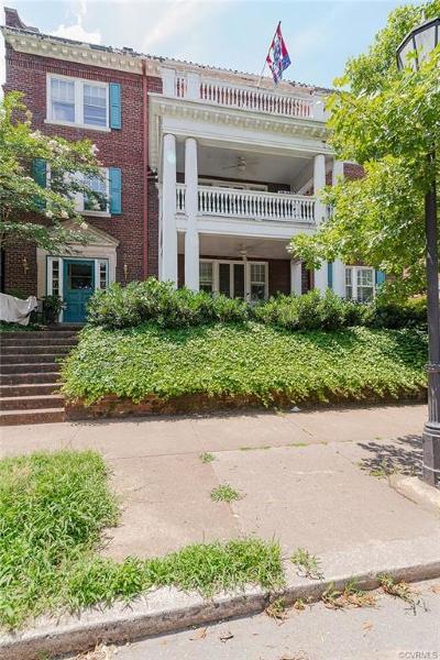 Richmond Condo/Townhouse For Sale: 2923 Monument Avenue #1