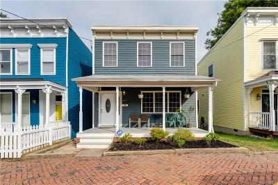 Richmond Single Family Home For Sale: 814 N 26th Street