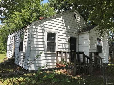 Richmond Single Family Home For Sale: 1819 Keswick Avenue