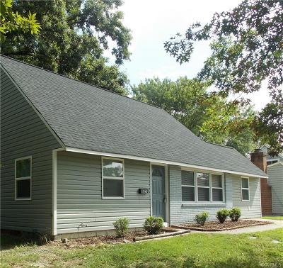Richmond Single Family Home For Sale: 6024 Indigo Road
