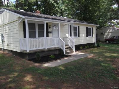 Nottoway County Single Family Home For Sale: 505 Tavern Street