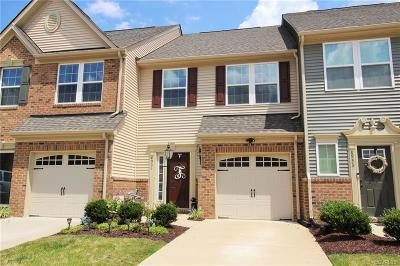 Hanover County Condo/Townhouse For Sale: 8931 Ringview Drive