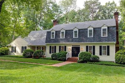 Henrico Single Family Home For Sale: 9605 River Road