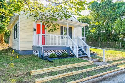Richmond VA Single Family Home For Sale: $94,900