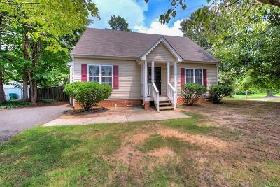 Richmond Single Family Home For Sale: 2939 Hey Road