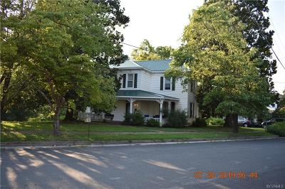 Crewe Single Family Home For Sale: 400 W Carolina Avenue
