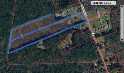 Dinwiddie Land For Sale: 14320 Gatewood Road