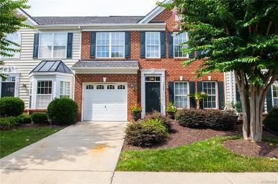 Glen Allen Condo/Townhouse For Sale: 5928 Gate House Drive