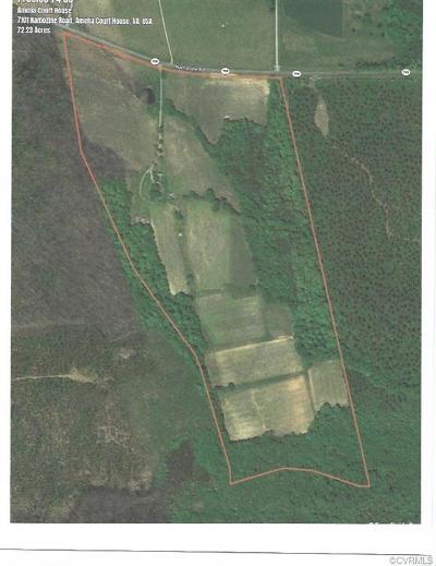 Amelia County Land For Sale: 7101 Namozine Rd