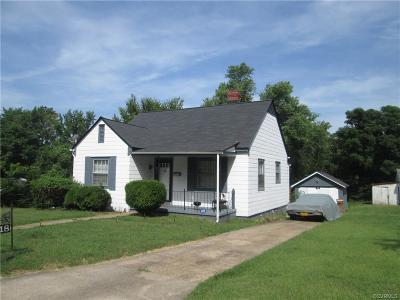 Single Family Home For Sale: 1318 Custer Street