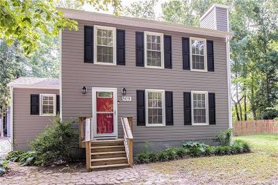 Chesterfield VA Single Family Home For Sale: $228,500