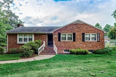 Chester Single Family Home For Sale: 4512 Wraywood Avenue