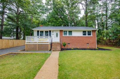 Richmond Single Family Home For Sale: 2300 Reed Road