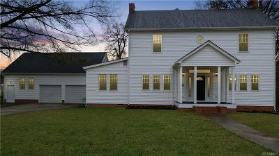 Petersburg Single Family Home For Sale: 816 W South Boulevard