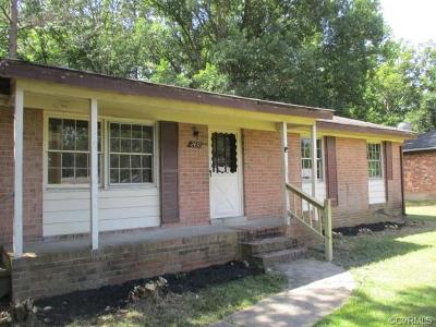 Richmond Single Family Home For Sale: 2437 Brinkwood Drive