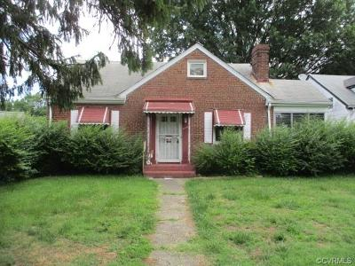 Richmond Single Family Home For Sale: 3124 Maplewood Avenue