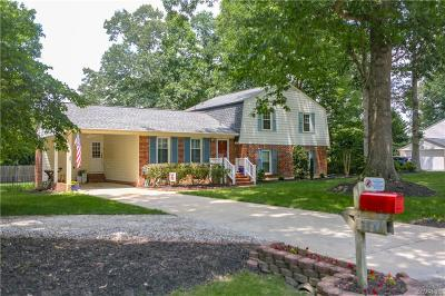 Chesterfield Single Family Home For Sale: 3640 Hemlock Road