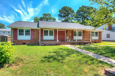 Petersburg Single Family Home For Sale: 345 Beauregard