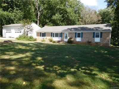 Powhatan Single Family Home For Sale: 1756 Reams Road