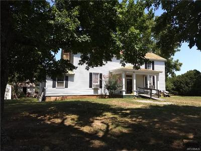 Amelia County Single Family Home For Sale: 11011 Goodman Lane