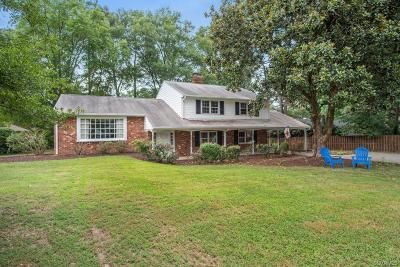 Henrico Single Family Home For Sale: 2309 Poates Drive