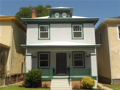 Richmond Single Family Home For Sale: 2314 2nd Avenue