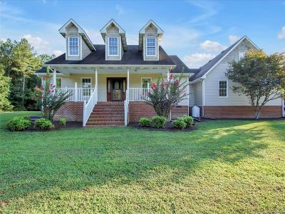 Single Family Home For Sale: 27516 Oakdale Road